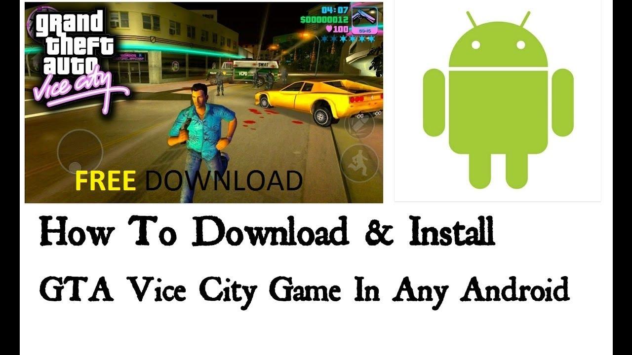 www gta vice city game free download