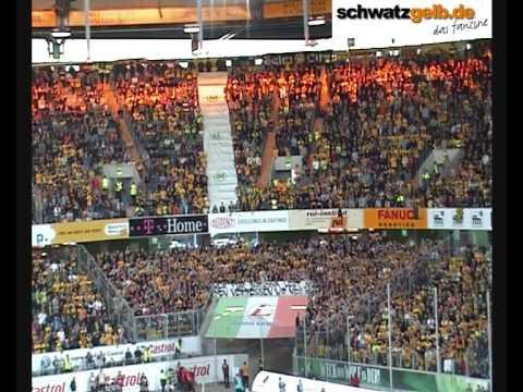 Wolfsburg vs BVB - Stimmung Fans VfL Wolfsburg - Borussia Dortmund 3:0