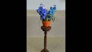 Quilled Miniature Plants:  Plant Stand