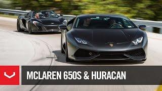 "Lamborghini Huracan | McLaren 650S Spider | ""BlackSkullz"" | Vossen Forged (4K)"