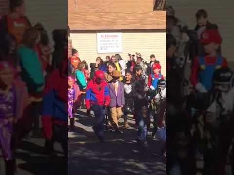 Halloween Parade At St Sebastian Catholic Academy 2017