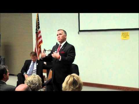 NC: Thom Tillis tells union worker he