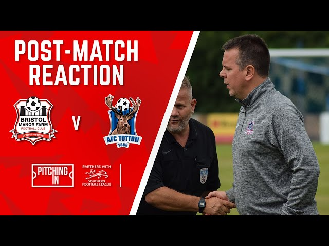 POST-MATCH REACTION: Lashenko after AFC Totton draw