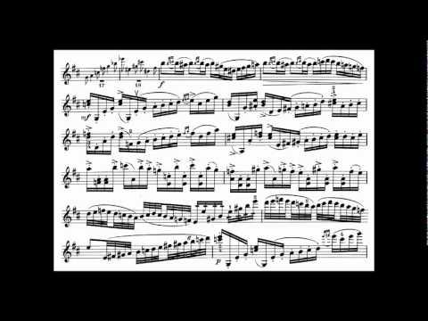 Tsjaikovski, P.I. mvt1 (begin) violin concerto