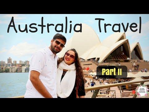 Australia Travel || Indian Couple Self Drive || Part 2 || Sydney, Melbourne