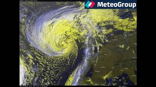 2017 1016 - Ex-Ouragan OPHELIA - Rafale de 191 km/h sur l'Irlande !