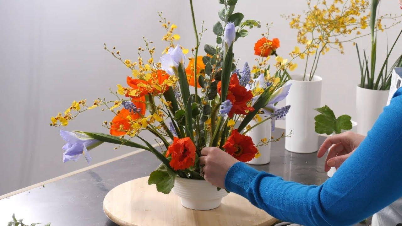 Using the iris flower for arranging youtube using the iris flower for arranging izmirmasajfo