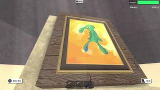 How To Get Squidward Painting - Lumber tycoon 2 - More info in Description !