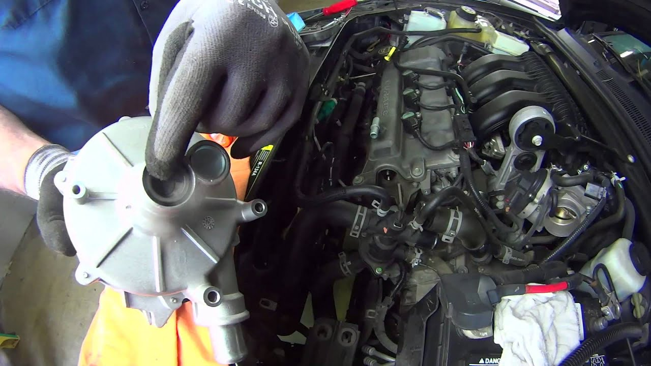 how to install a water pump ford duratec 3 0l wp 2417 aw6186 youtubeFord 3 0 Dohc V6 Engine Diagram #19