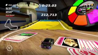 Table Top Racing: World Tour Back to the 80's Drifting Tokyo Zero