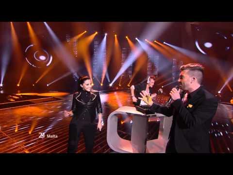 Kurt Calleja - This Is The Night (Malta) Eurovision 2012 Grand Final Original HD 720P