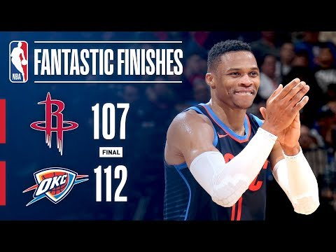 Best Of CRUNCH TIME: Thunder vs Rockets On...