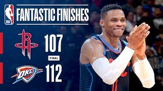 Best Of CRUNCH TIME: Thunder vs Rockets On Christmas Day