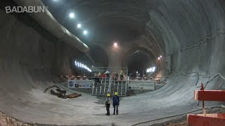 No creerás cómo se construyen los túneles subterráneos