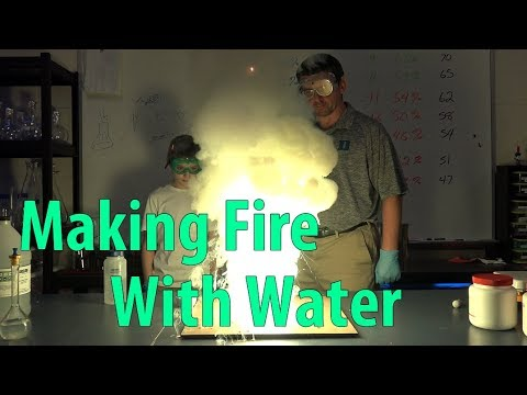 EpicScience - Burning Zinc: Making Fire With Water