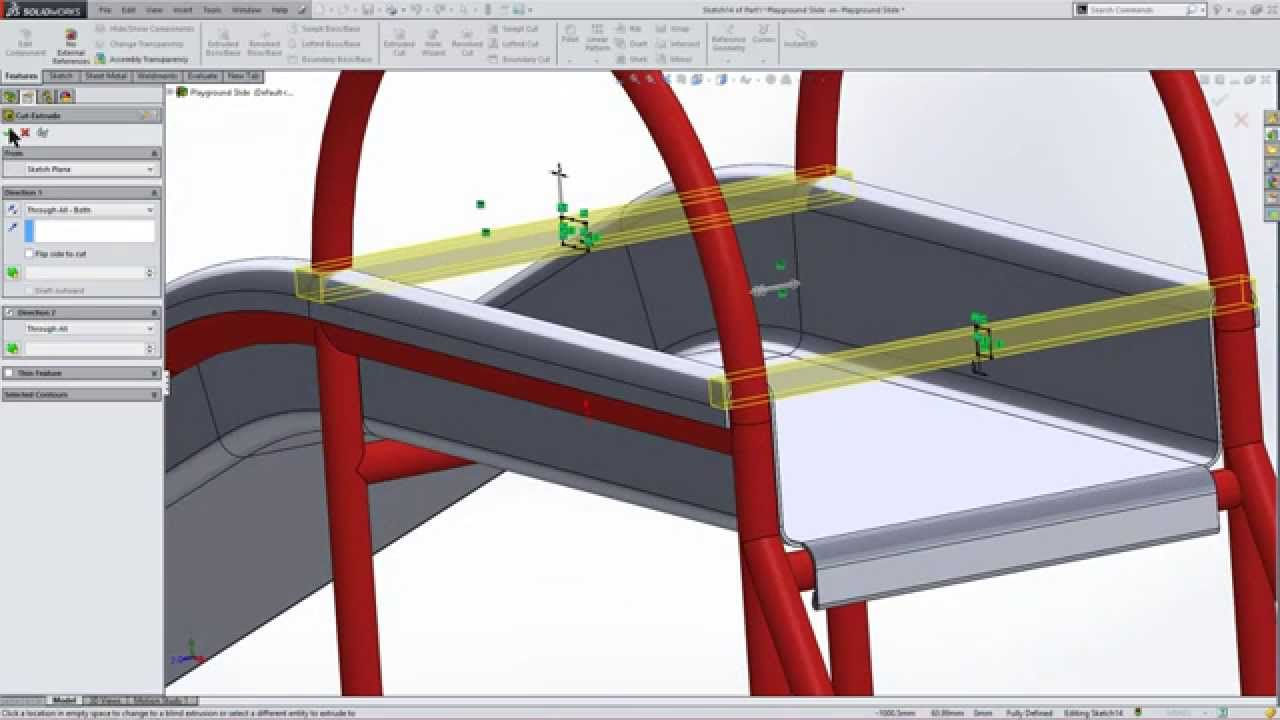 how to make weldments in solidworks