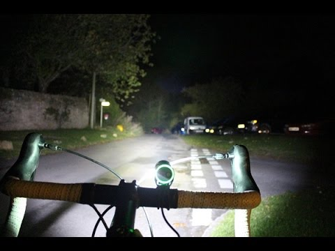 960 Lumens Superbright Bike Light With Town & City Mode PLUS One Touch Dip