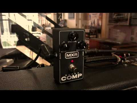MXR Super Comp Test - Effect On Line