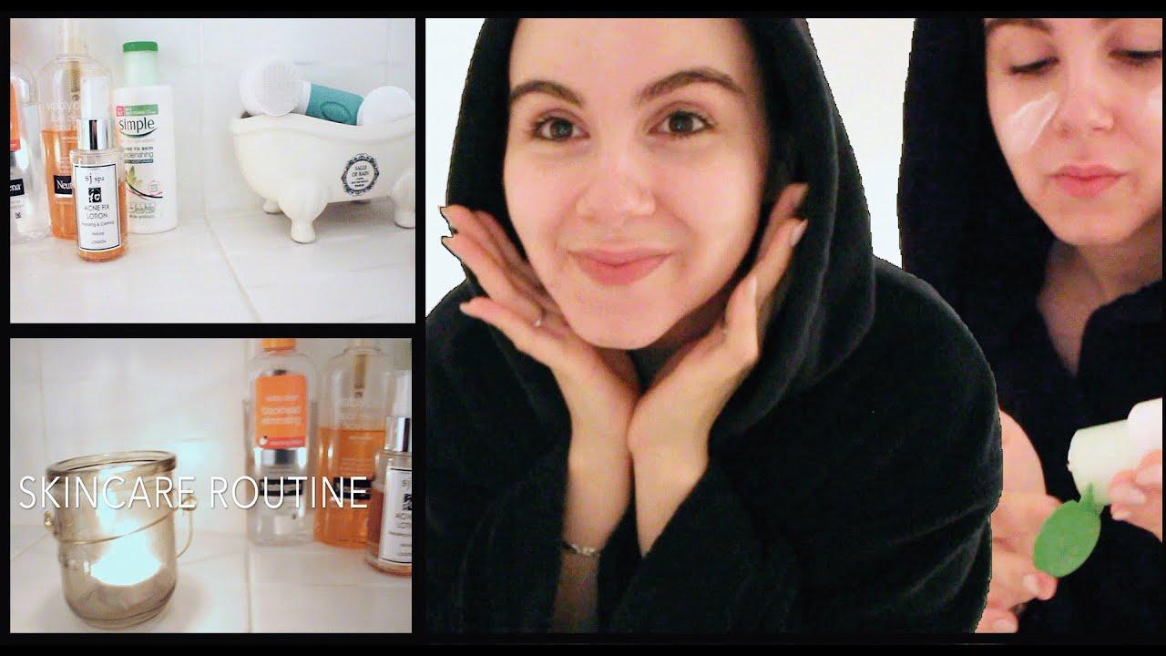 ♡my Skin Care Routine♡ Amina Chebbi Youtube