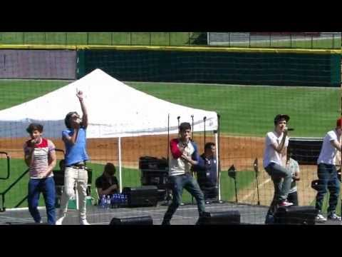 Up All Night One Direction  Dr Pepper ballpark