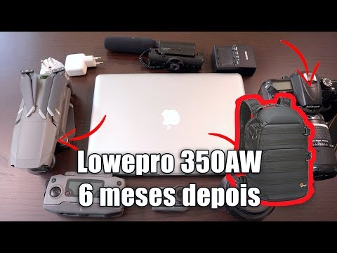 Review Mochila Lowepro Protactic 350 AW - 6 meses depois.