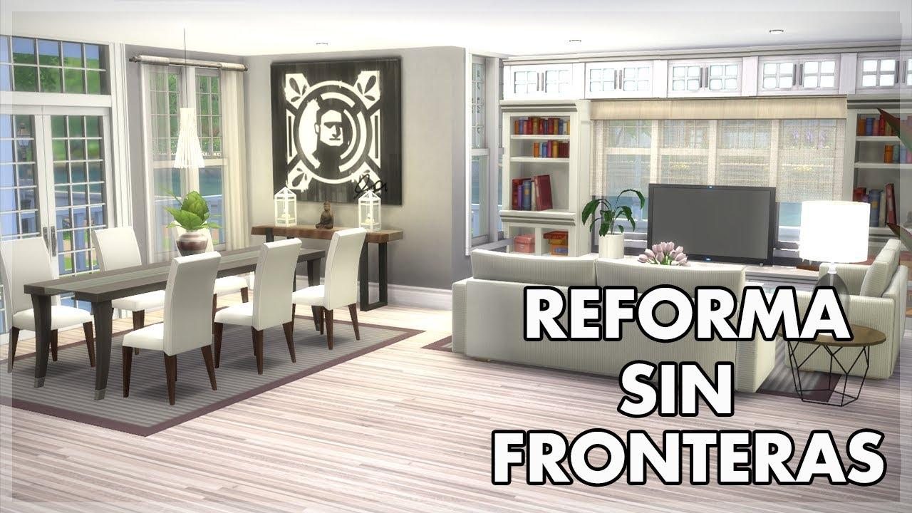 los sims 4 reforma sin fronteras sal n comedor ep 3