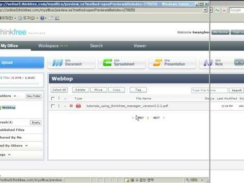 ThinkFree PDF Viewer