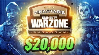 🔴 $20,000 WARZONE TOURNAMENT (Vikkstars Showdown Week 3)