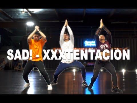 SAD - XXXTENTACION Dance  Matt Steffanina ft Gabe & Trinity
