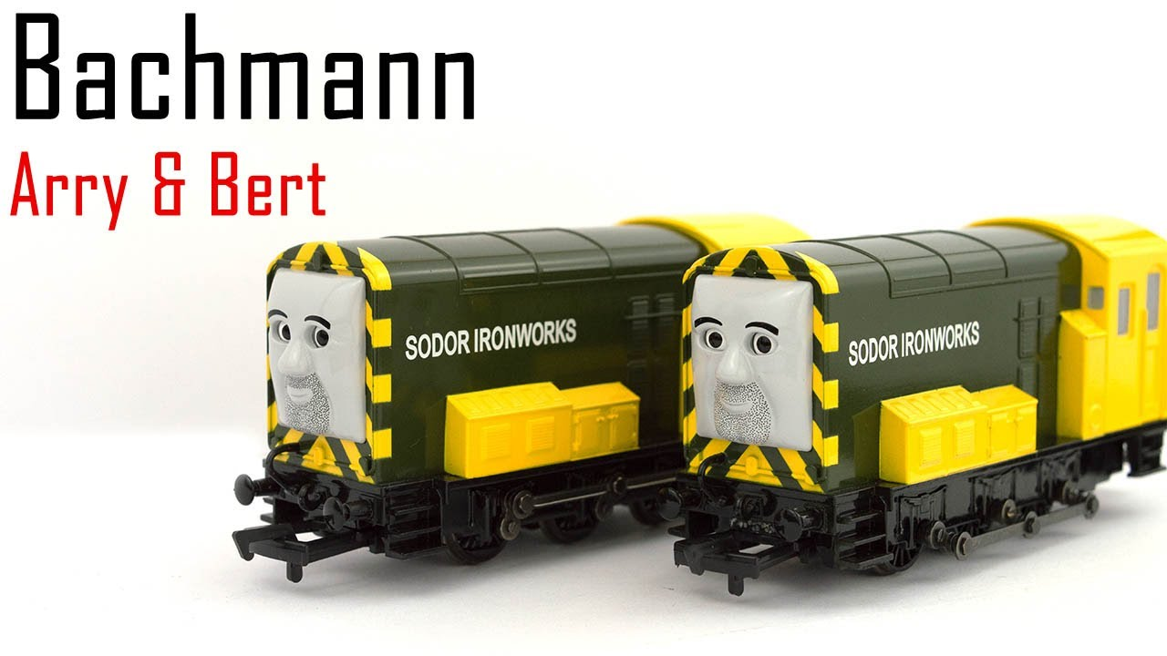 Unboxing The Bachmann Arry Amp Bert From Thomas Amp Friends