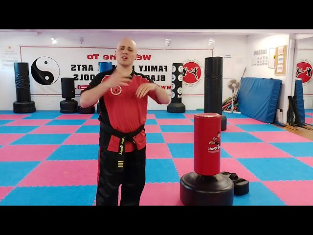 Family Martial Arts | Mr T with another encouragement video for another ninja
