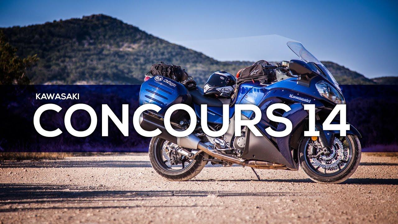 Kawasaki Concours 14 ABS - MotoGeo Review - YouTube