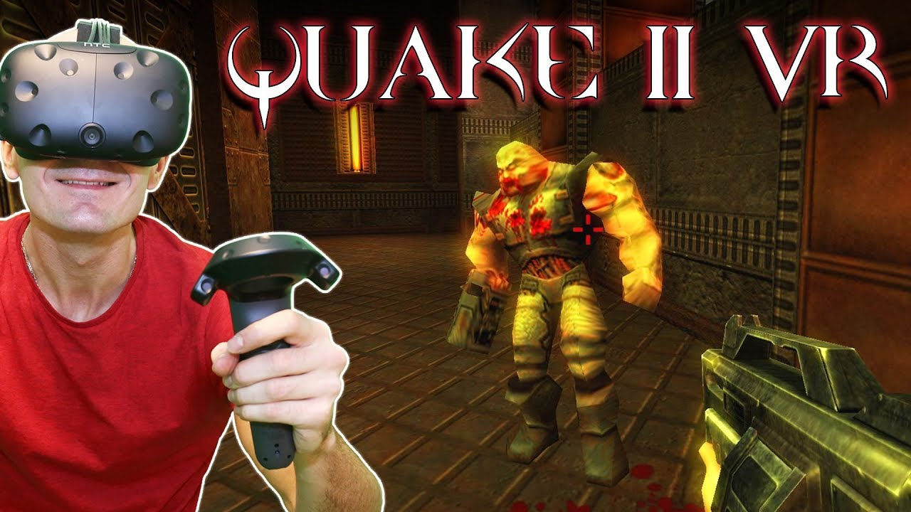 Play Quake II In Room-Scale VR On Your Rift Or Vive