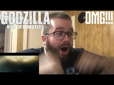 Godzilla: King of the Monsters - Official Trailer 1 Reaction!!!!! (HYPE!!!!!)