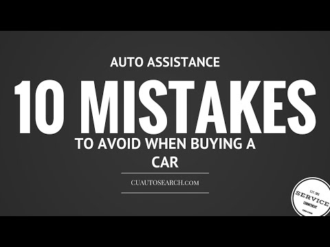 10 Mistakes to Avoid When Buying Your Next Car-Full Audio book