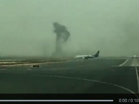 Raw: 'Incident' at Dubai Airport