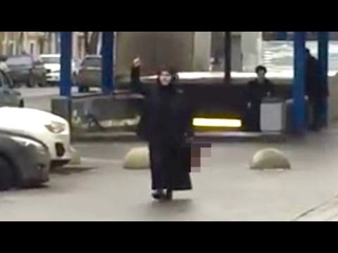 Video Shows Woman Carrying Child's Severed Head in Moscow