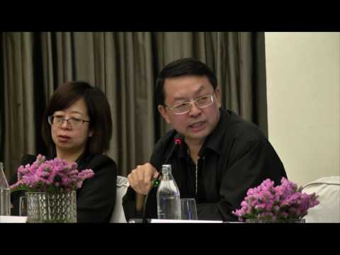 Fusuo Zhang at the 2017 International Conference on World Food Policy