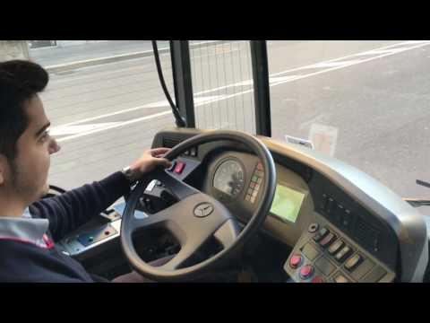 A Milano A Bordo Di Un Autobus Ibrido: Elettrico + Diesel