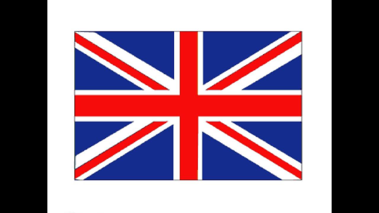 How to Draw a British Flag / Как нарисовать Флаг ...