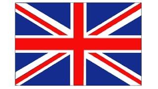 How to Draw a British Flag / Как нарисовать Флаг Великобритании