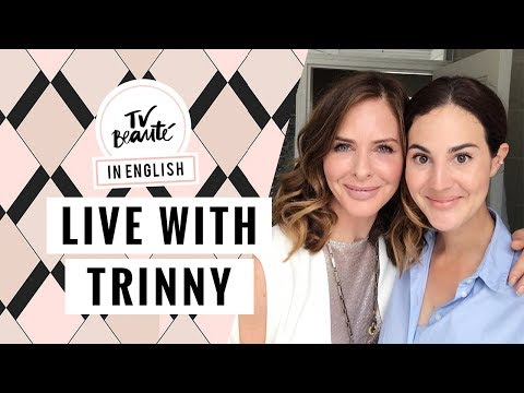 Live with Trinny Woodall: face massage, oils & my top 10 makeup products - TV Beauté | Vic Ceridono