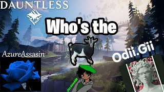 Who's The GOAT? | Dauntless (Nintendo Switch)