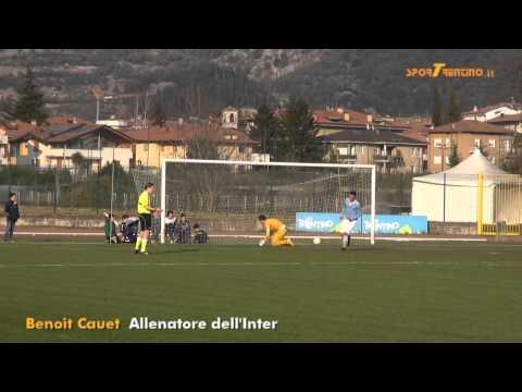 Benoit Cauet, allenatore della squadra allievi dell'Inter
