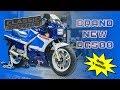 Brand new! Classic Suzuki RG500 2 stroke 500cc in showroom