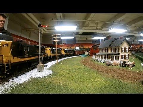 Model Train 16 Trains-ATSF, NYC, Metra, Pennsy, CSX, CP, MoPac, NoPac Despatch, PM, Zephyr, ChicRL