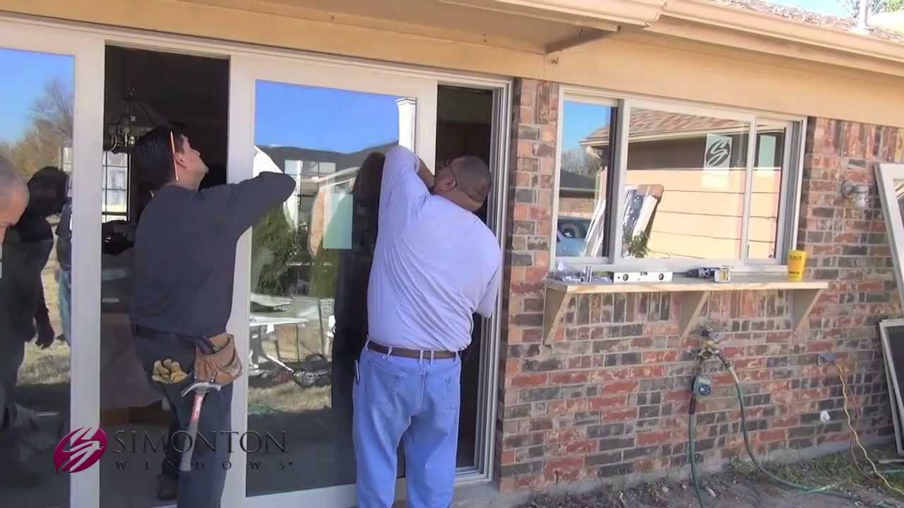 & Before and After: Vinyl Window and Patio Door Replacement - YouTube