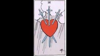 Tarot Tuesday - Three of Swords Meaning