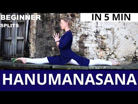 hanumanasana  monkey pose  yoga for athletes  youtube