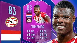 FIFA 19 SBC DUMFRIES REVIEW | DUMFRIES 83 PLAYER REVIEW | FIFA 19 ULTIMATE TEAM